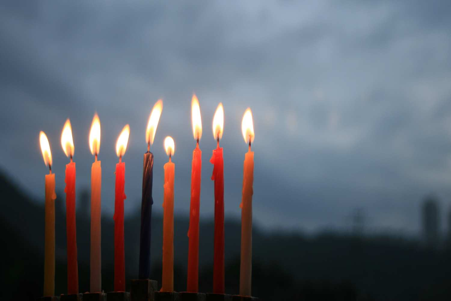 Hanukkah then and today